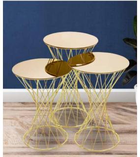 Table gigogne style moderne design