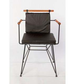 Chaise design industriel en...